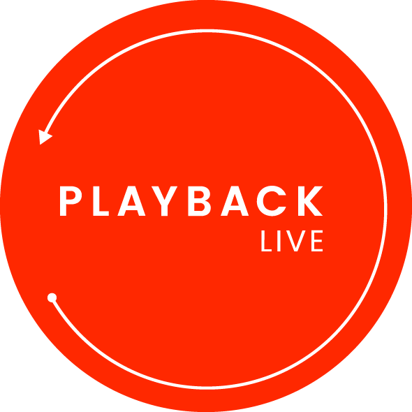 Playback Live Main Logo, partners page